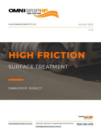 Guide to High Friction Surface Treatment cover
